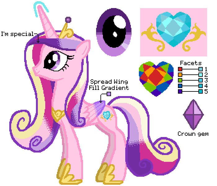 Princess Cadence Coloring